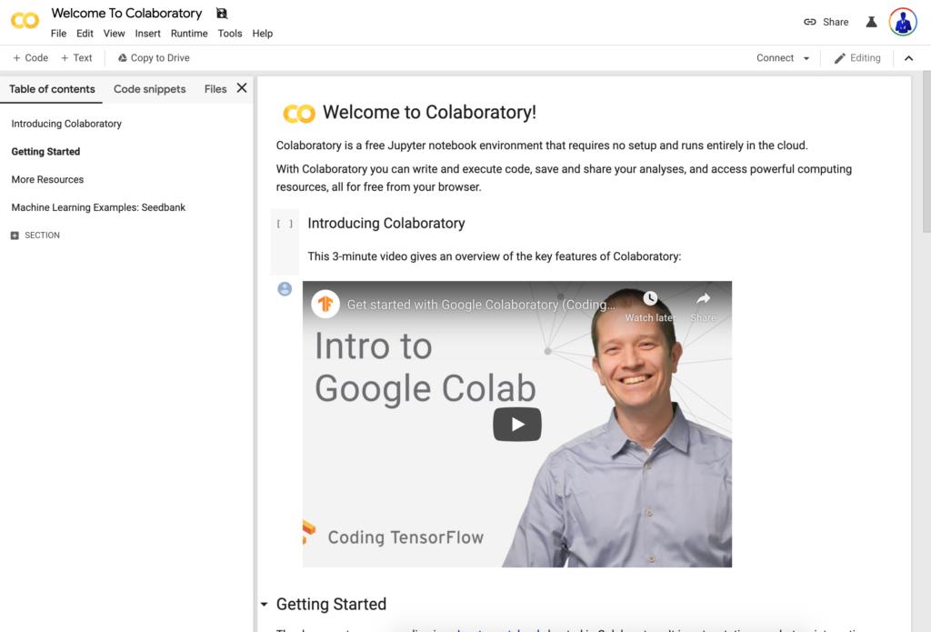 Google Collabo